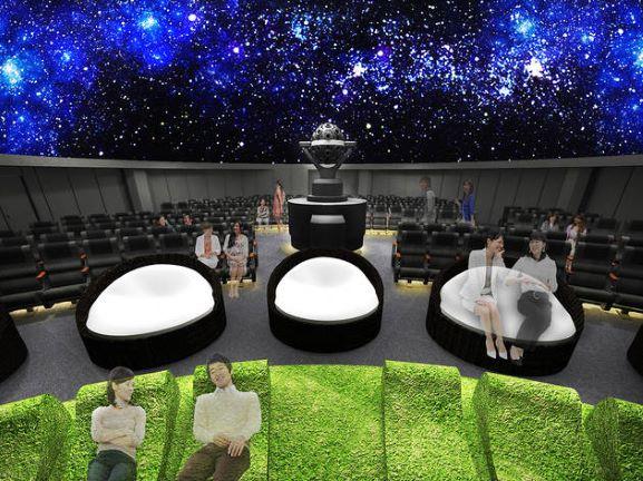 画像:池袋で天体観測?「コニカミノルタプラネタリウム'満天'」