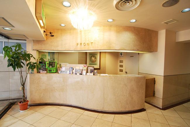 フロント:ホテルスタープラザ池袋