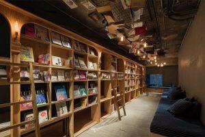 雰囲気溢れる、とても珍しい「泊まれる本屋」ブックアンドベッド池袋