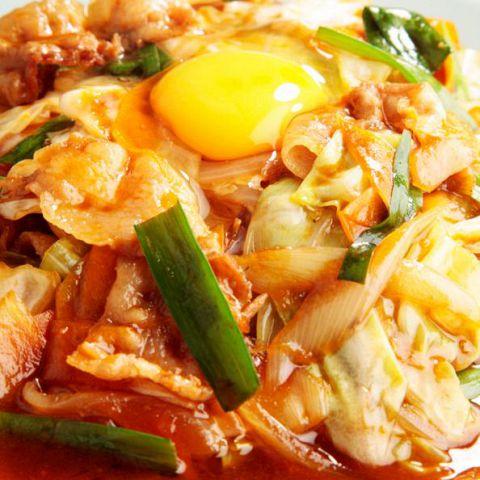 洋庖丁:スタミナ焼き定食