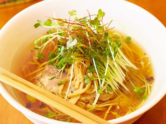 池袋 麺屋hulu-luの醤油SOBA