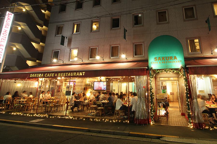 画像:さくらカフェ&レストラン